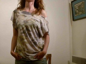 t-shirt-loose-3-300x225 dans Couture