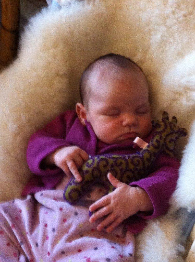 Des bébés et des girafes dans Couture kikou-e1359287589560