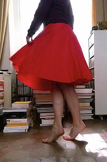 jupe-rouge-pabailar-2-chez-louise chez Louise