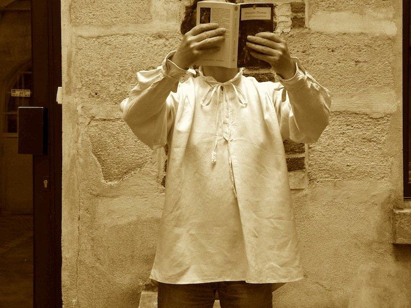 La chemise d'Artagnan dans Couture chemise-dartagnan-chez-louise
