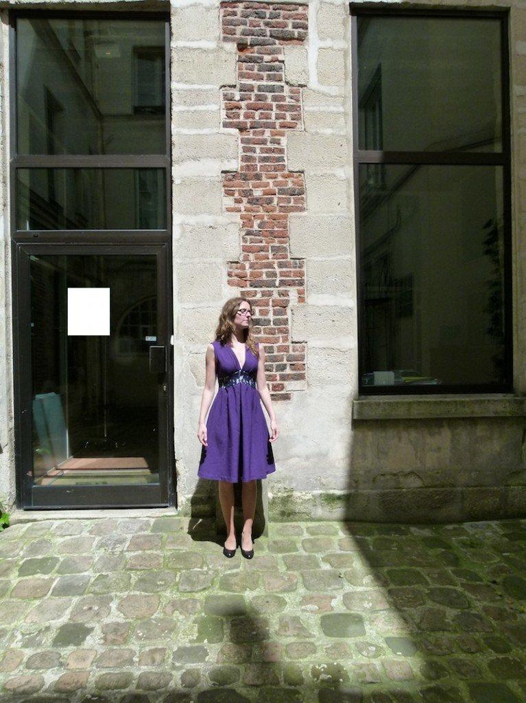 robe-violette-chez-louise1 dans Couture